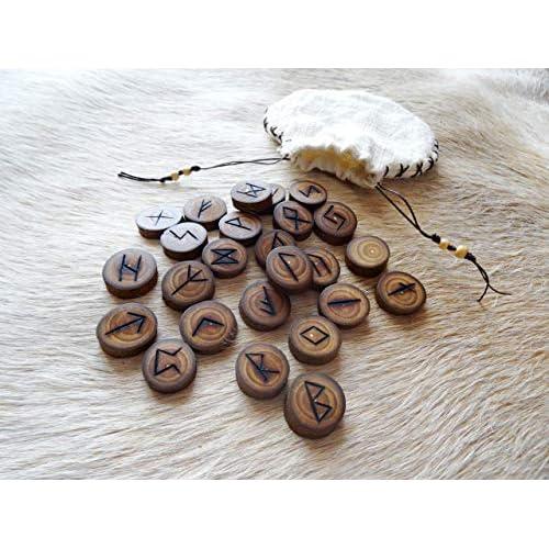 Rune Run in legno Frassino Yggdrasil