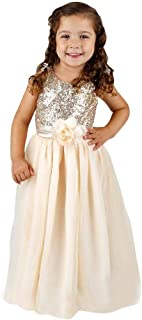 Best sequin tulle flower girl dress Reviews