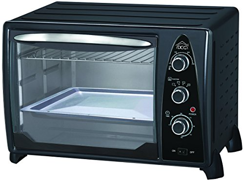 DCG Eltronic MB9835 N - Horno (Electric, Convection, Conventional, Freestanding, Black, Silver, Rotary, Mechanical)