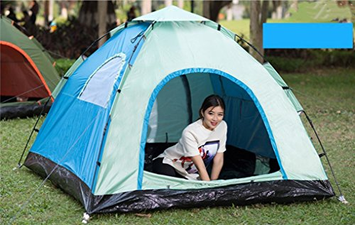 Zonnezeil voor buiten, dubbel, 3-4 personen, 2 camping, automatisch, voor strand, toerisme, ZXCV