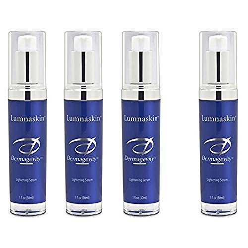 Lumnaskin Buy 3 Get 1 FREE - Helps Diminish the Appearance of Skin Discolorations and Age Spots - All Natural Brightening and Lightening Cream - Reduces Redness and Evens Out Skin Tones - Fades Sun Spots and Sun Damage - Potent Anti-Oxidants Formula for Radiant, Healthy, Vibrant and Luminous Complexion.