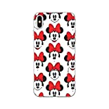 ERT GROUP Original Disney Coque de Protection pour Minnie 058 iPhone XS Max Multicouleur