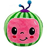 JJ Coco-Melon Stuffed Animal Toy, Watermelon Education Plush Doll, Soft Mini Size for Boys Girls Baby Adults, Gift for Christmas Birthday, Home Office Desktop Decorations Pillow,