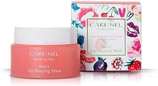 Carenel Berry - Tratamiento nocturno hidratante para labios, 23g