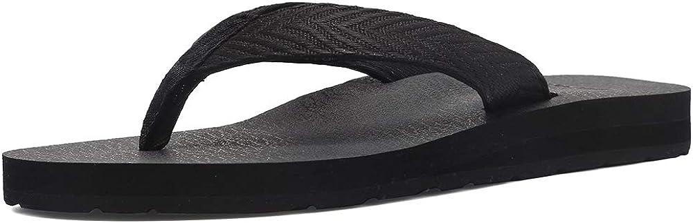 EQUICK Women's OFFicial mail order Flip Flops online shop Arch Support Yago Mat Sandal Insole Ca