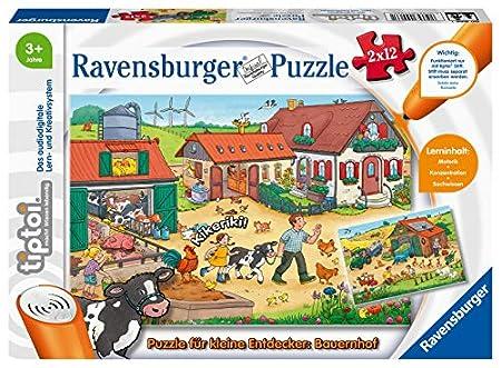 Ravensburger tiptoi Bauernhof Puzzle für kleine Entdecker