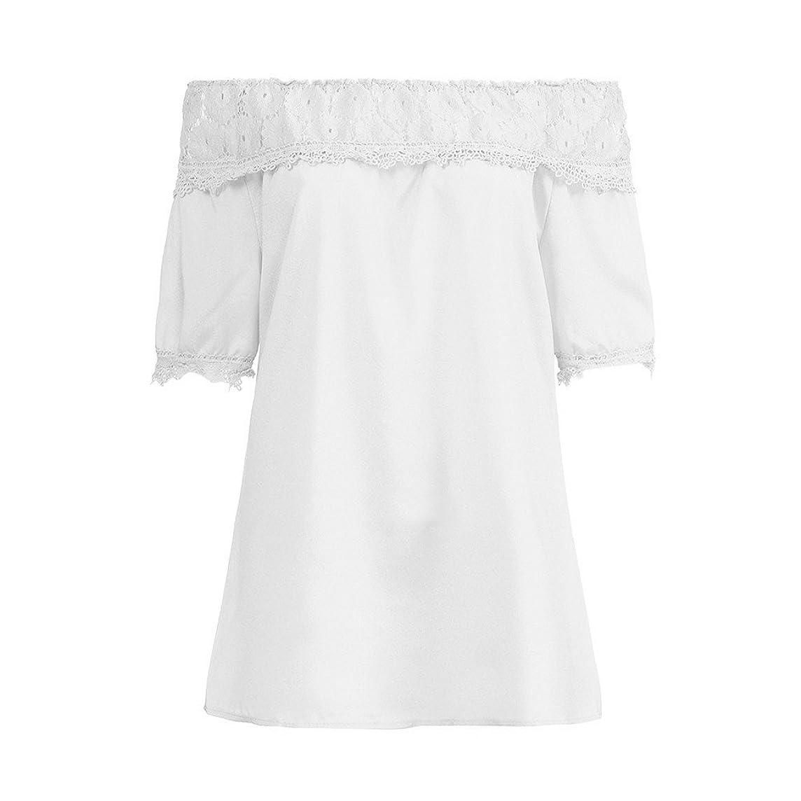 AOJIAN Women's T Shirt Short Sleeve Shirts Off Shoulder Applique Tunic Blouse Tanks Vest Tops for Women