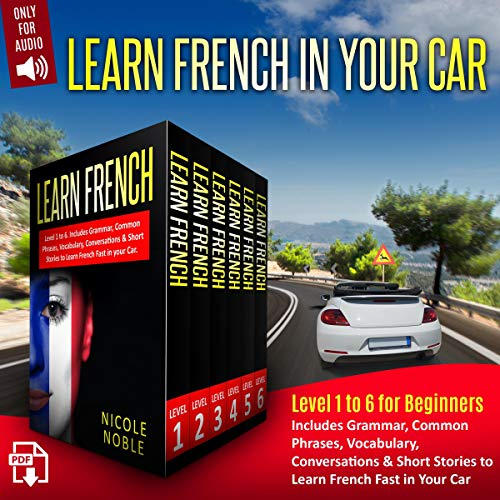 Page de couverture de Learn French in Your Car