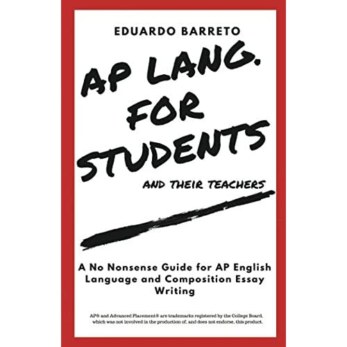 Writing An Essay Composition Amazoncom Ap Lang For Students And Their Teachers A No Nonsense Guide For Ap English Science Essays also Essay On My Family In English  How Do I Write A Thesis Statement For An Essay