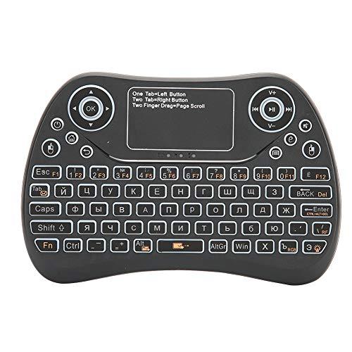 Oreilet Touchpad Handheld, 2.4G Teclado con retroiluminación confiable y Adecuado, para Smart...