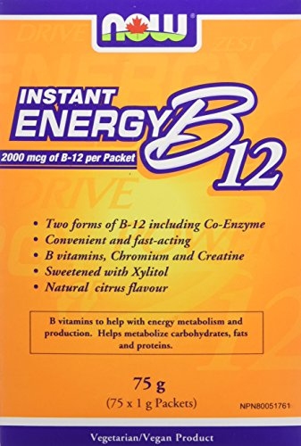 NOW B12 Instant Energy Packets 75/Box