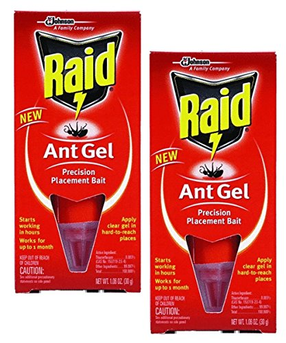 Raid Ant Gel Up To 1 Month 1.06 oz (Pack of 2)