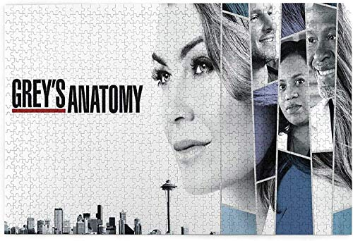 YeeATZ Jigsaw Puzzles Greys Anatomy Puzzle Jigsaw 1000 Piece Puzzle for Adults - Difficult Entertainment & Relax