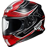Shoei NXR Valkyrie Motorcycle Helmet M Red Black (TC-10)