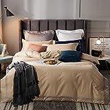 Einfache Single Double Bettbezug Trampolin einfache Baumwolle vierteiliges Set Bannica 1,5-1,8...