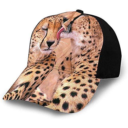 Egoa Baseball Hat Cerrar Cheetah Pareja Personalizada Unisex Hiphop Adulto Gorra De Béisbol Sombrero De Papá Acogedor Sombrero De Camionero Diseño De Moda Deportes De Pesca Duraderos E