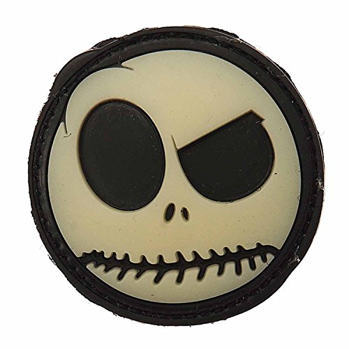 Emblem 3D PVC Big Nightmare Smiley #12008