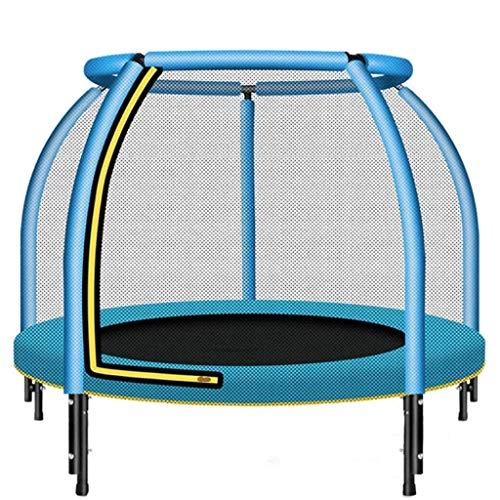 XYXH Trampolin Kinder Mit Netz, Gartentrampolin Bis 50KG Belastbar, Fitness Trampolin, Indoor, Outdoortrampolin Inkl. Sprungmatte, Für Kinder Ab 3 Jahre