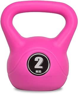 マッスルジーニアス(Muscle Genius) ケトルベル 2kg/3kg/4kg/6kg/8kg/10kg/12kg カラフル 7種類 ダンベル トレーニング 筋トレ器具