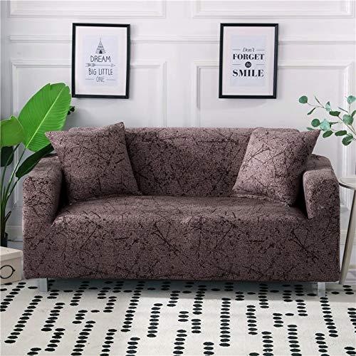 ASCV Fundas de sofá elásticas geométricas para Sala de Estar Sofá de Esquina seccional Moderno Funda de sofá Funda de sofá Protector de Silla A4 4 plazas