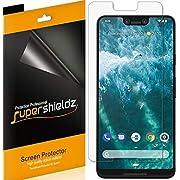 [6-Pack] Supershieldz for Google (Pixel 3 XL) Screen Protector, Anti-Glare & Anti-Fingerprint (Matte) Shield, Lifetime Replacement
