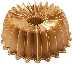 Nordic Ware Brillance Bundt Cake Pan, Gold, 85777
