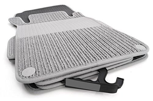 Tapis de sol pour mercedes-benz s203 classe c w203 rips original doppelrippe auto.. qualité.
