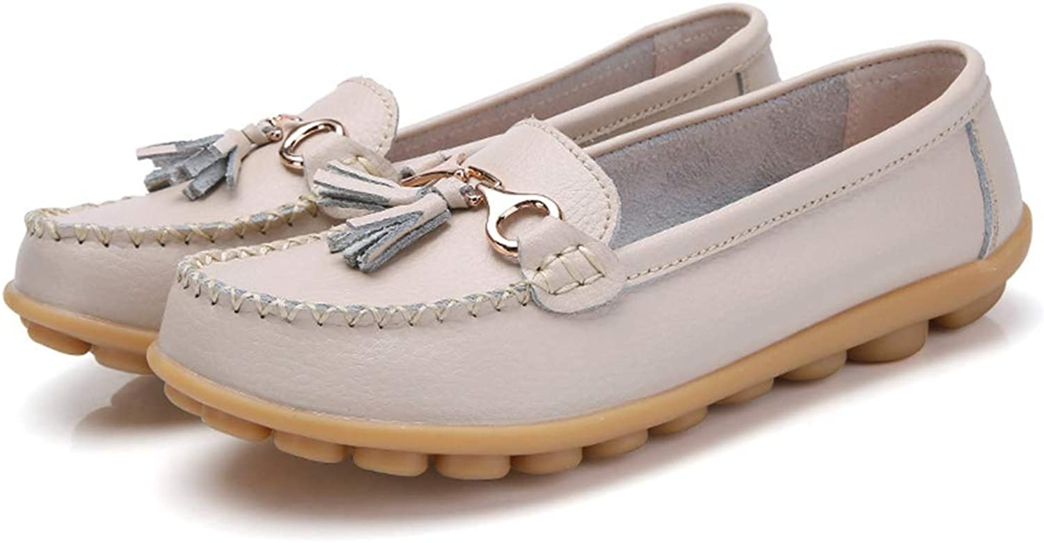 Kyle Walsh Pa Women's Flats Soft Leather Loafers Moccasins Autumn Spring shoes