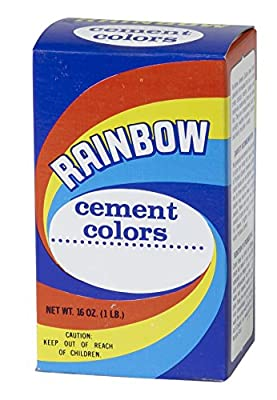 Mutual Industries Rainbow Cement Color, 1 lb, Cement Blue