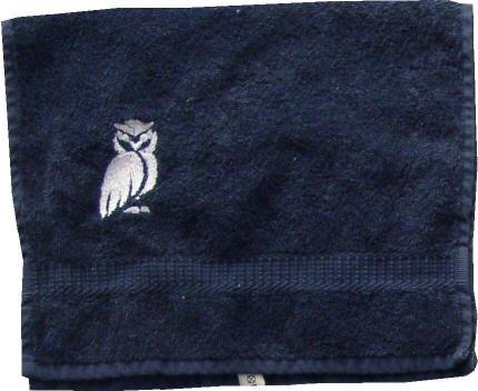 Sauna Handdoek met Borduursel Uil