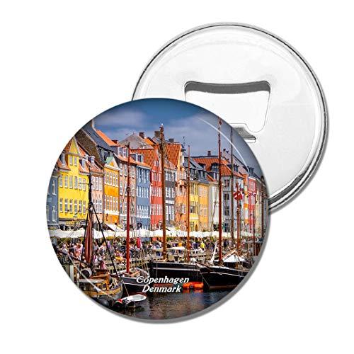 Weekino Dänemark Nyhavn Kopenhagen Bier Flaschenöffner Kühlschrank Magnet Metall Souvenir Reise Gift