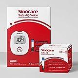 Kit de monitor de glucosa en sang *Safe *AQ *Voice amb 50 tires reactives