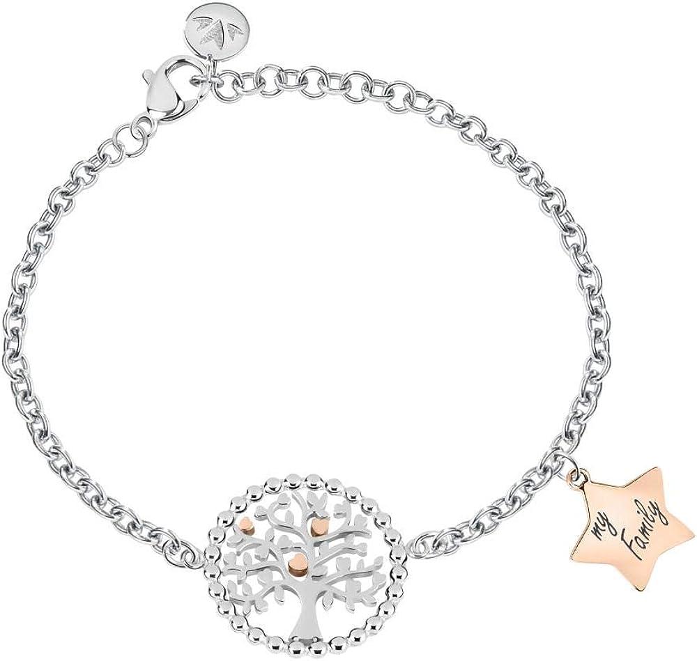 Morellato, bracciale da donna, collezione talismani, in acciaio SAQE14
