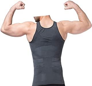 Hommes Compression T-Shirts De Course sans Manches Bodybuilding Collants Sport Shirt Spandex Fitting Gilet