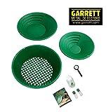 Garrett - Gold Pan - Kit d'orpaillage avec batées