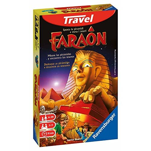 Ravensburger Italy- Faraon Gioco Travel, 23431