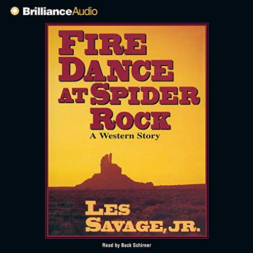 Fire Dance at Spider Rock audiobook cover art