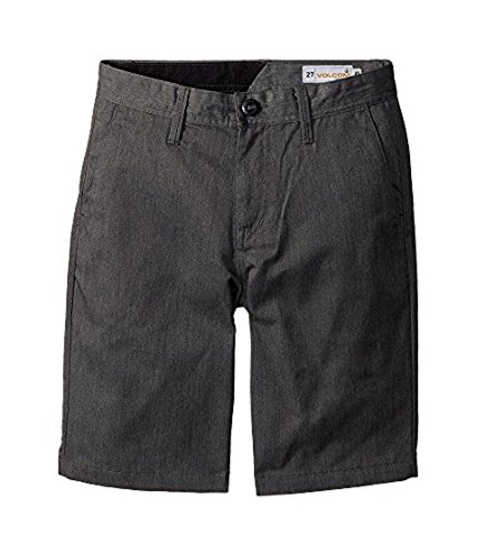 ボルコム Volcom Kids キッズ 男の子 ショーツ 半ズボン Charcoal Heather Frickin Chino Shorts 26(12BigKids) [並行輸入品]