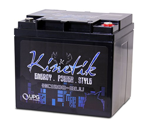 Kinetik (HC1200-BLU) Black Power Cell Battery