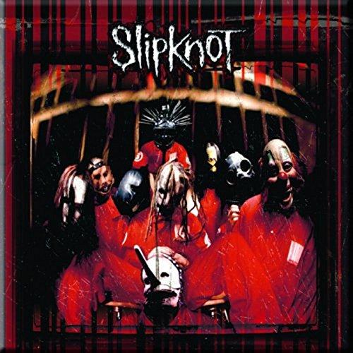 Slipknot Kühlschrankmagnet Neighbourhood band logo Nue offiziell 76mm x 76mm