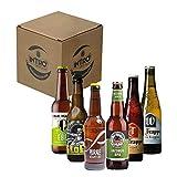 INTRO BEER CLUB Box Degustazione Birre Artigianali - Selezione di Birre dal Mondo'Olanda vs Italia' - Kit con 6 Bottiglie da 33cl - Confezione Idea Regalo Uomo