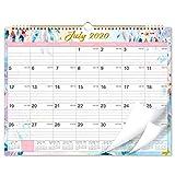 2020-2021 Calendar - 18 Months Wall Calendar 2020-2021, 15' x 11.5', Jul 2020-Dec 2021, Flexible, Colorful...