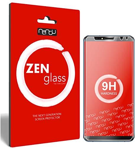 ZenGlass (2 Stück Flexible Glas-Folie kompatibel mit Oukitel K6 Panzerfolie I Bildschirm-Schutzfolie 9H I (Kleiner Als Das Gewölbte Bildschirm)