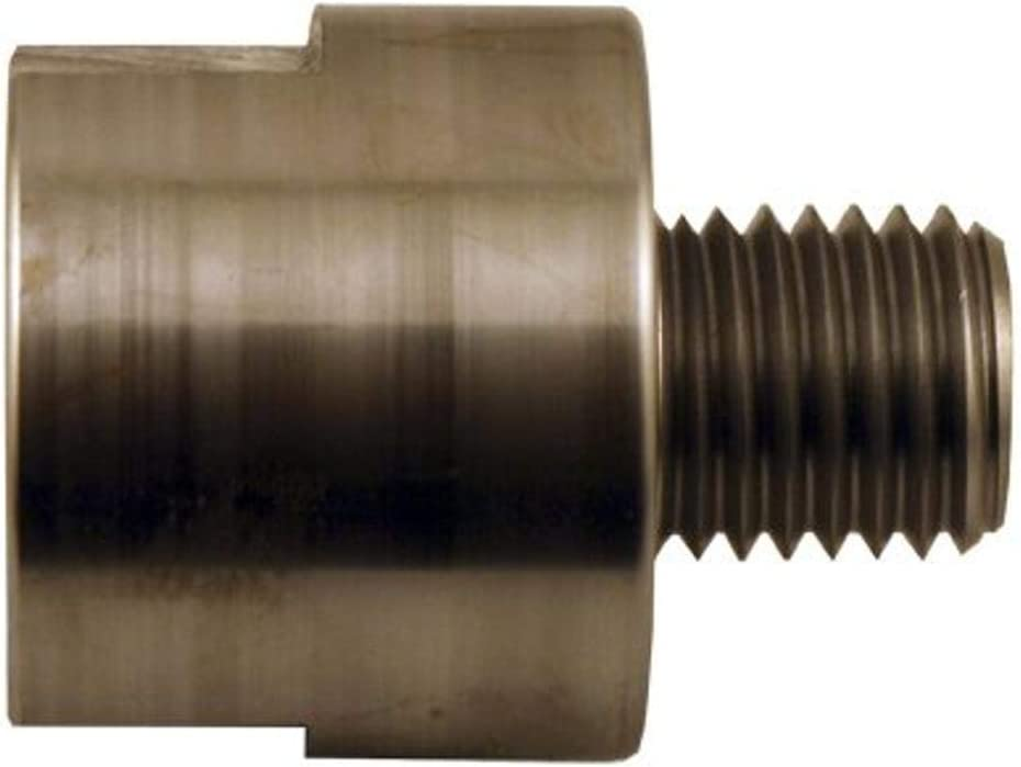 """Lathe Spindle Adapter to fit 5//8/"""" plain Shopsmith spindle to 1/"""" x 8 TPI Thread"""