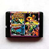 Spire 4in1 Midnight Resistance+Rambo III+Pro-am Championship+Golden Axe II 16 bit SEGA MD Game Card For Sega Mega Drive For Genesis