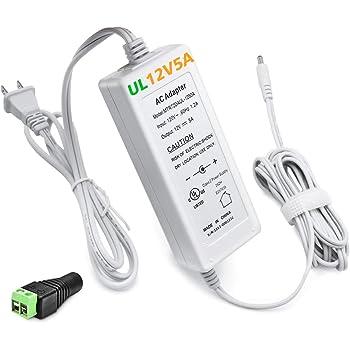 X Waterproof 5.5 x2.1mm DC Socket Power Jack Plug Female Mount ConnectoH4MA
