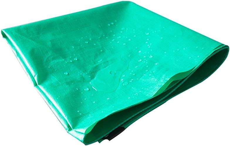 AJZGF Tissu Imperméable à l'eau Imperméable Bache Verte, Voiture Anti-Pluie Hangar Tissu Solaire Crème antigel Plastique Huile Couverture antioxydation