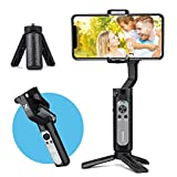 3-Axis Gimbal Stabilizer for Smartphone, Foldbale Phone Gimbal Handheld Stabilizer Video Vlog Youtuber Live...