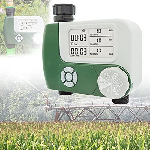 BIWASimple Programador Riego Automatico, Temporizador de Riego, Riego Automatico Jardin, Riego Automatico Programador para Jardín Hierba Planta de Invernadero