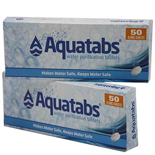 Wasserreinigungstabletten AQUATABS 100 Tabletten von...